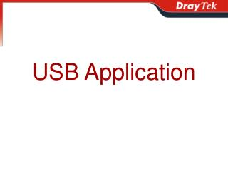 USB Application