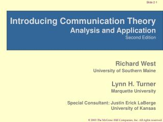 Introducing Communication Theory Analysis and Application Second Edition