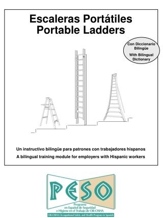 Escaleras Port �tiles Portable Ladders