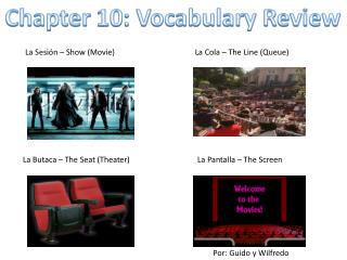 Chapter 10: Vocabulary Review