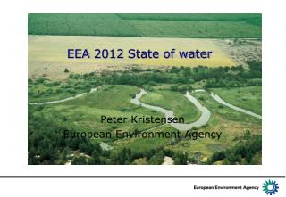 EEA 2012 State of water