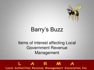 Barry's Buzz
