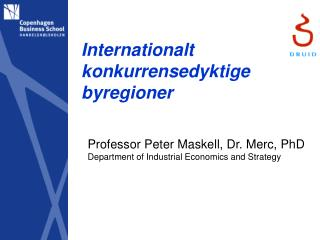 Internationalt konkurrensedyktige byregioner