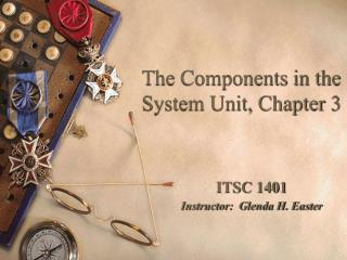The Components in the System Unit, Chapter 3