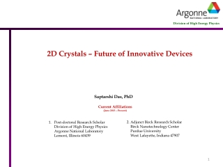 Physical Electronics and Nanotechnology