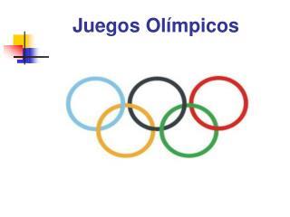 Juegos Ol�mpicos