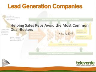 Lead Generation Companies: Helping Sales Reps Avoid the Most