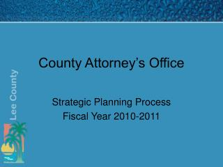 County Attorney s Office