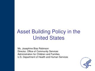Asset Building Policy in the  United States