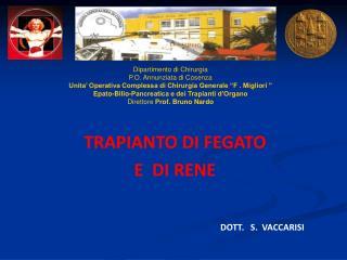Dipartimento di Chirurgia P.O. Annunziata di Cosenza