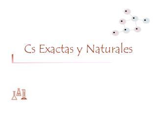 Cs Exactas y Naturales
