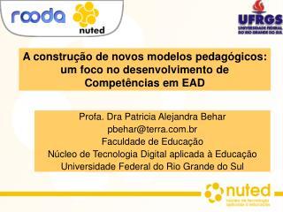 A construção de novos modelos pedagógicos: um foco no desenvolvimento de Competências em EAD
