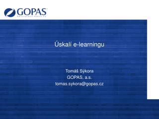 Úskalí e-learningu