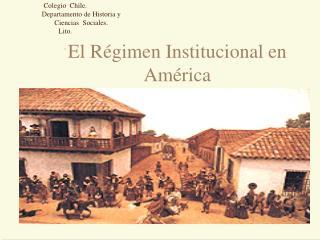 Colegio  Chile. Departamento de Historia y          Ciencias  Sociales.  Lito. -