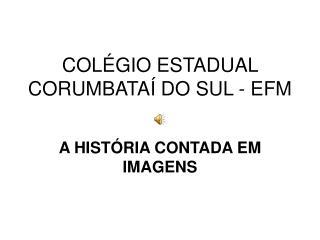 COLÉGIO ESTADUAL CORUMBATAÍ DO SUL - EFM
