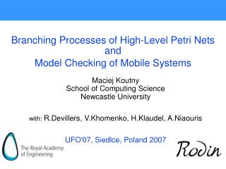 Branching Processes of High-Level Petri Nets and  Model Checking of Mobile Systems