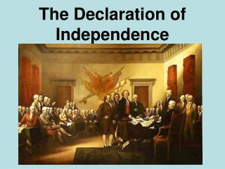 The Declaration of Independence