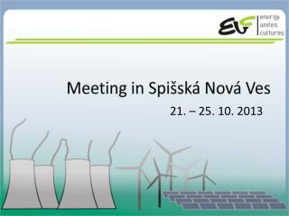 Meeting in Spišská Nová Ves