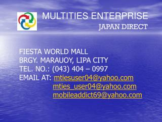 MULTITIES ENTERPRISE