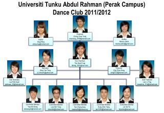 Universiti Tunku Abdul Rahman (Perak Campus) Dance Club 2011/2012
