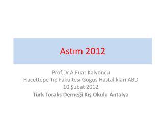 Astım 2012