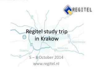 Regitel study  trip  in  Krakow