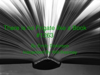 There is no Frigate like a Book #1263