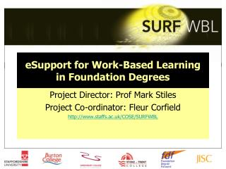 eSupport for Work-Based Learning in Foundation Degrees