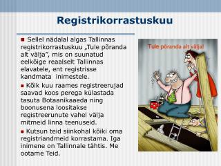 Registrikorrastuskuu