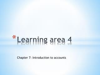 Learning area 4