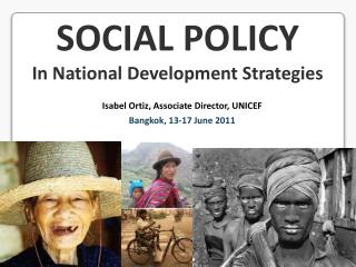 SOCIAL POLICY In National Development Strategies
