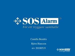 Camilla Bendris  Björn Hansson rev 20100519
