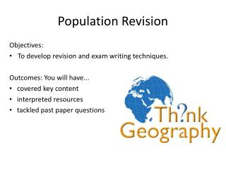 Population Revision