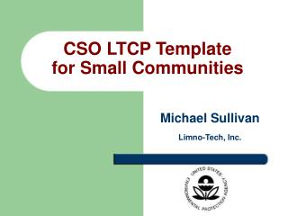CSO LTCP Template  for Small Communities
