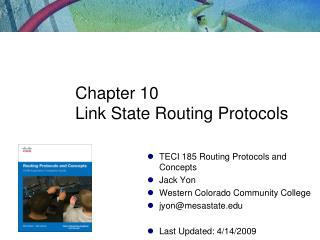 Chapter 10 Link State Routing Protocols
