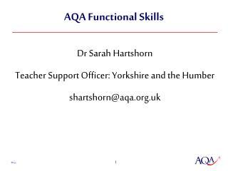 AQA Functional Skills