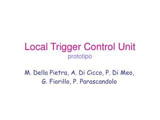 Local Trigger Control Unit prototipo