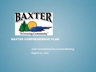 Baxter Comprehensive plan