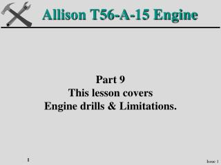 Allison T56-A-15 Engine