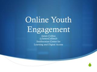 Online Youth Engagement
