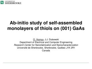 Ab-initio study of self-assembled monolayers of thiols on 001 GaAs