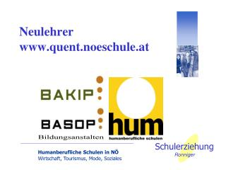 Neulehrer quent.noeschule.at