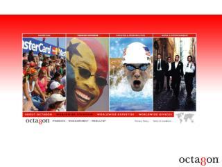 PRESENTATION D'OCTAGON TRAVAIL AUTOUR DES ATHLETES L'ACTIVITE D'OCTAGON WEB