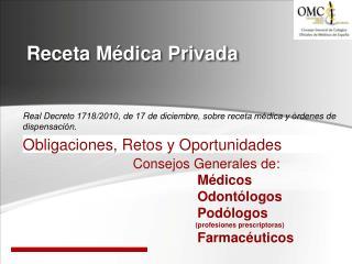 Receta Médica Privada