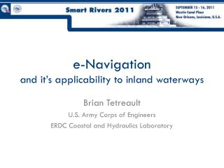 e-Navigation and it's applicability to inland waterways