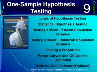One-Sample Hypothesis Testing