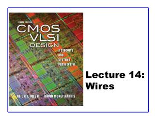 Lecture 14:  Wires