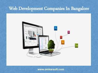Web Development Companies In Bangalore
