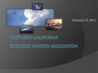 Northern California  Business aviation association