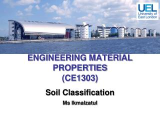 ENGINEERING MATERIAL PROPERTIES (CE1303)